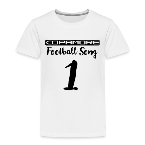 Football Song #1 international by COPAMORE - Kinder Premium T-Shirt