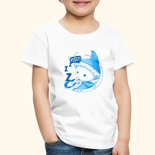 Unser Sandmännchen im Mond Pssst blau - Kinder Premium T-Shirt