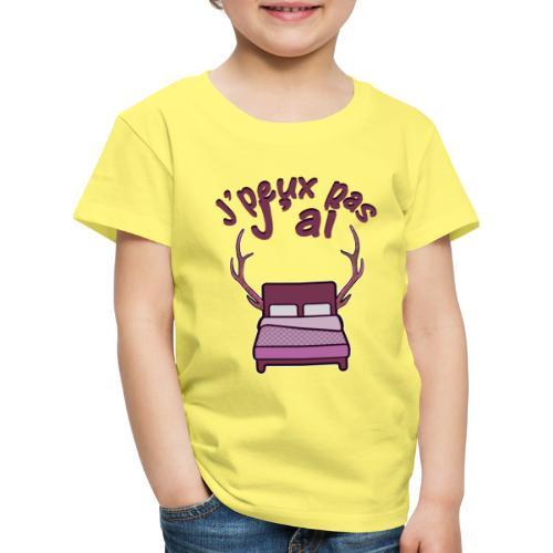 Je peux pas j'ai Lit Corne (Licorne) - T-shirt Premium Enfant