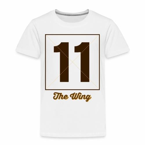 Wing11 Marplo - Maglietta Premium per bambini