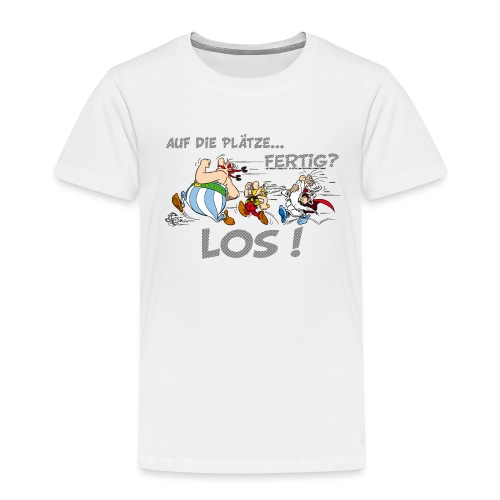 Asterix Obelix Auf die Plätze... Fertig? Los! - T-shirt Premium Enfant