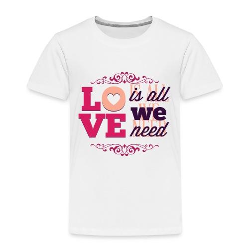 Valentinstag - Kinder Premium T-Shirt