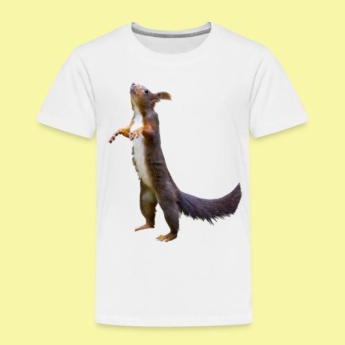 Eichhörnchen Schoko - Kinder Premium T-Shirt