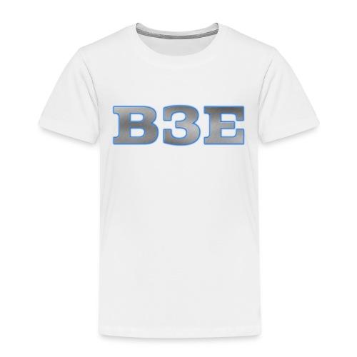 B3E: Logo - GlowingSteel - Kids' Premium T-Shirt