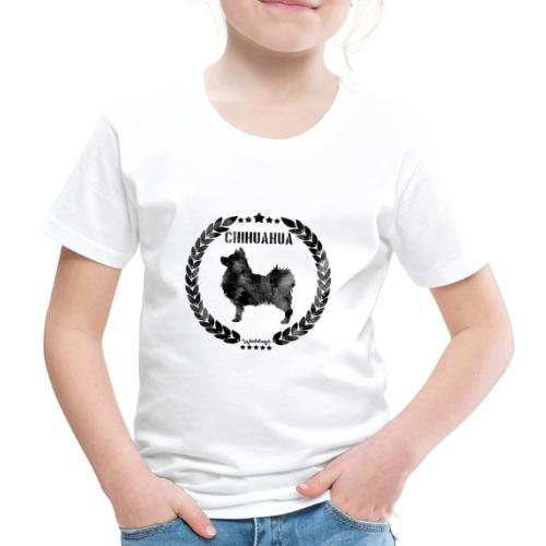 Chihuahua Army Black 2 - Lasten premium t-paita