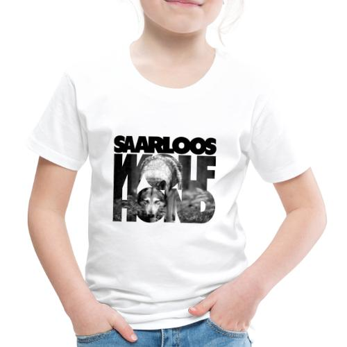 Saarloos Wolfhond III - Lasten premium t-paita