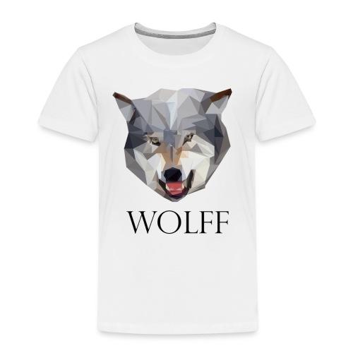 Wolff tshirt Men - Kinderen Premium T-shirt