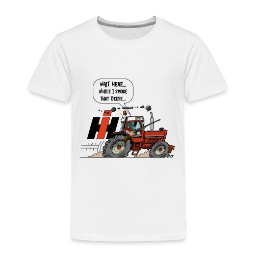 0857 wait here shotgun - Kinderen Premium T-shirt