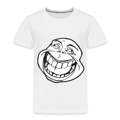 meme face not really by xarity d4es290 png - Kinderen Premium T-shirt
