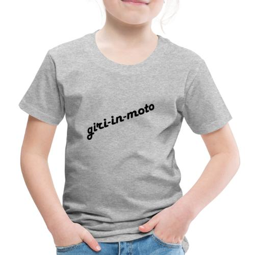 GIRI IN MOTO LIFESTYLE LADY NERO - Maglietta Premium per bambini