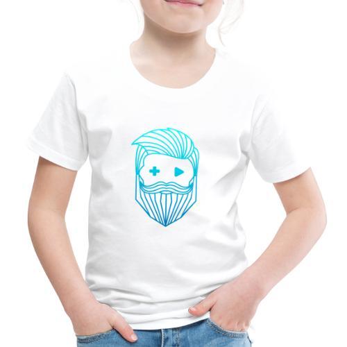 RobyTec Logo B1 Icon - Kinder Premium T-Shirt