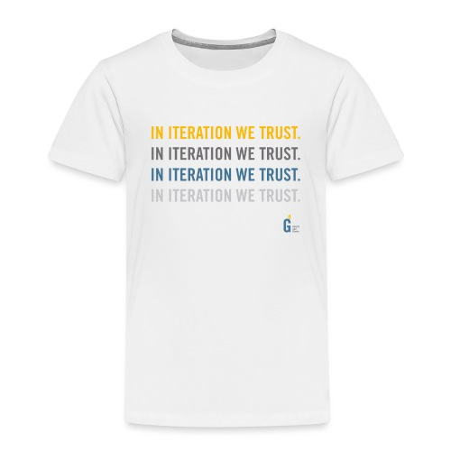 In iteration we trust II - Kids' Premium T-Shirt