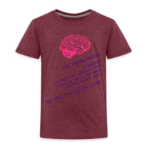Human Brain - Maglietta Premium per bambini