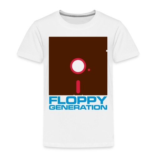 Floppy Generation 3c - Kids' Premium T-Shirt
