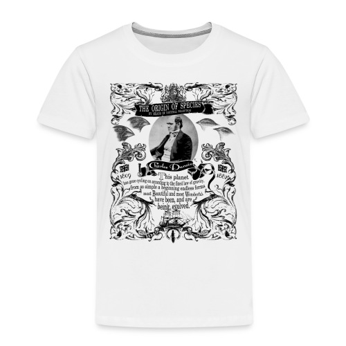Charles Darwin Origin of Species - Kids' Premium T-Shirt