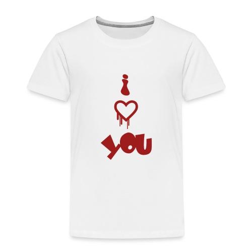 Peluche i love you - Kids' Premium T-Shirt