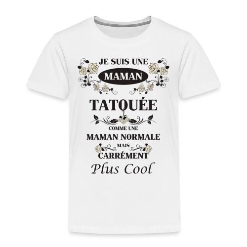 Maman Tatouée rose beige - T-shirt Premium Enfant