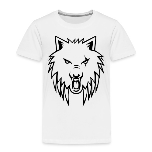 Apollo Wolf Transparent - Kids' Premium T-Shirt