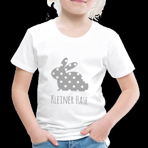Hase grau - Kinder Premium T-Shirt