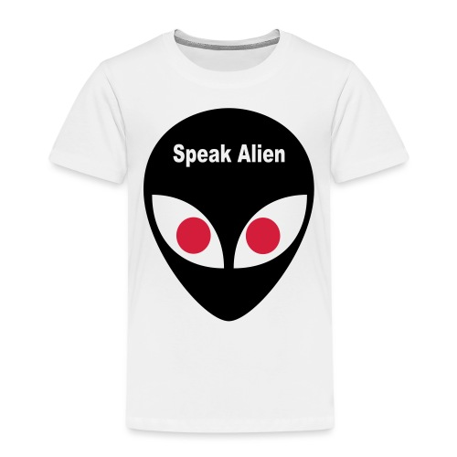 speak alien - Kinder Premium T-Shirt