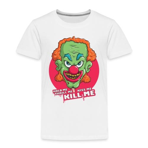 Clown - Koszulka dziecięca Premium