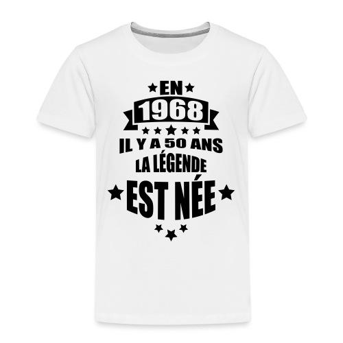 en 1968 il y a 50 ans la légende est née - T-shirt Premium Enfant