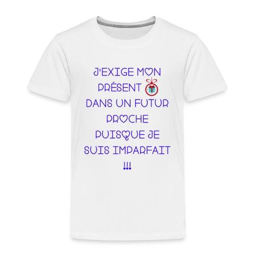 Je suis imparfait - T-shirt Premium Enfant