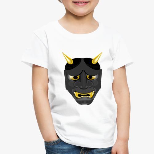 Demon Mask Black - Kids' Premium T-Shirt