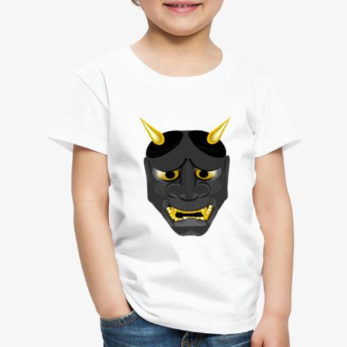 Demon Mask Black - Kids' Premium T-Shirt