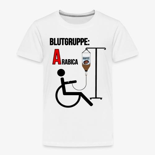 Kaffee - Blutgruppe: Arabica - Geschenkidee - Büro - Kinder Premium T-Shirt