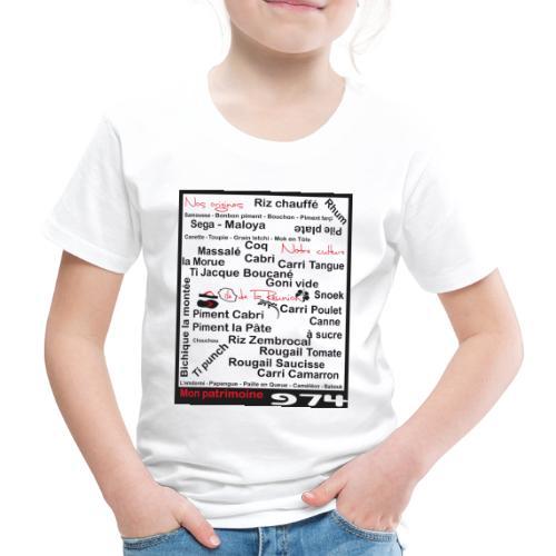 Logo 974 Ker Kreol - 2013 - T-shirt Premium Enfant