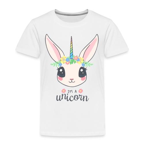 Einhorn Hase - Kinder Premium T-Shirt