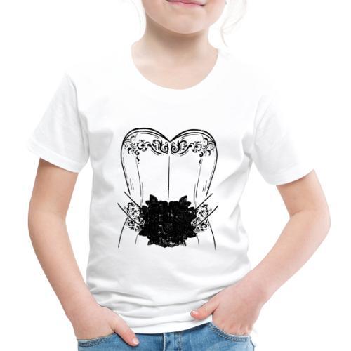 Braut Bride Hochzeit Junggesellin Polterabend Ehe - Kinder Premium T-Shirt