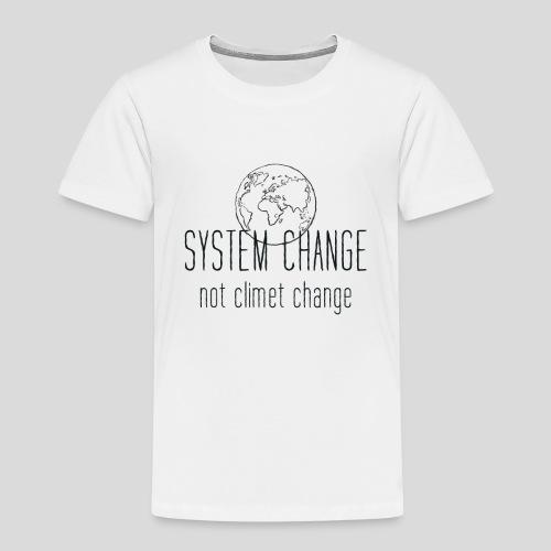 Fridays for future Erde System change - Kinder Premium T-Shirt
