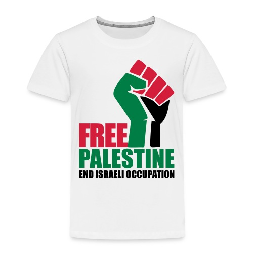 Free Palestine End Israeli Occupation - Kids' Premium T-Shirt