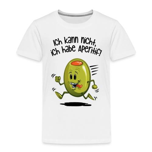 ick kann nicht - Kinder Premium T-Shirt