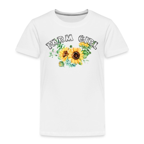 Farm Girl - Kids' Premium T-Shirt