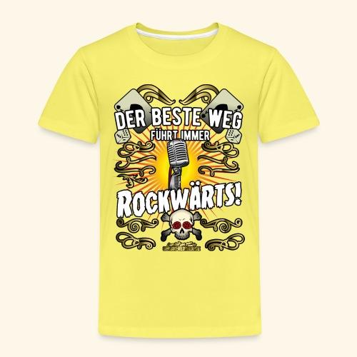 Rock Music Shirt ROCKWÄRTS - Kinder Premium T-Shirt