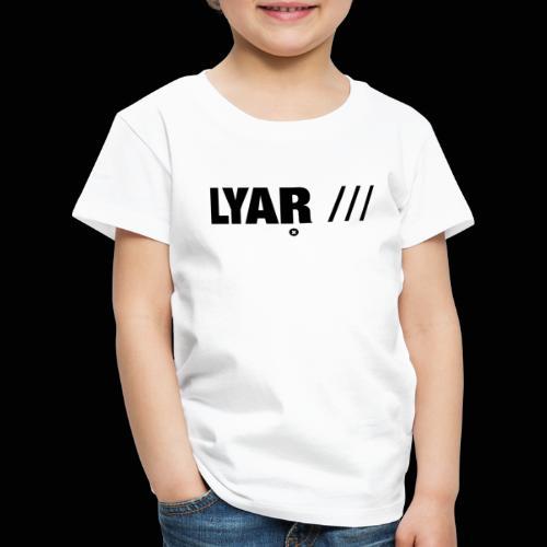 Lyar Official Merch (2) - T-shirt Premium Enfant