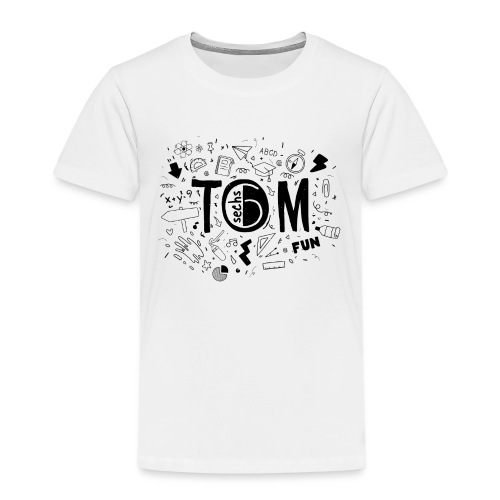 Tom goes to school - Kinder Premium T-Shirt