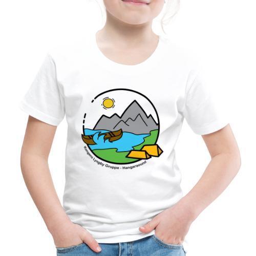 Hangaround sort - Børne premium T-shirt