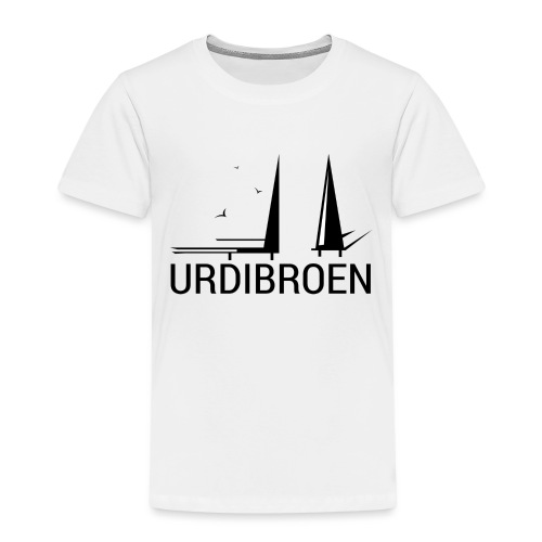 Urdibroen Coffee mug, white - Premium T-skjorte for barn