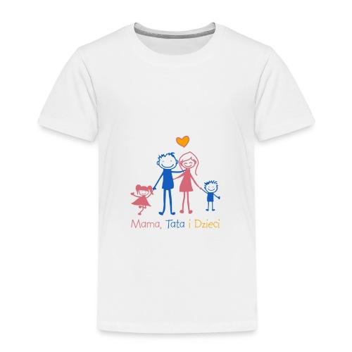 Mama Tata i Dzieci - Koszulka dziecięca Premium