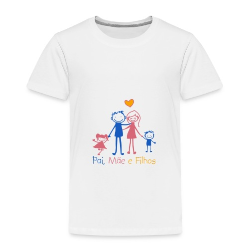 Pai Mãe e Filhos - Kids' Premium T-Shirt