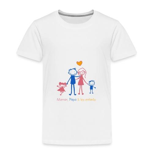 Maman Papa les enfants - T-shirt Premium Enfant