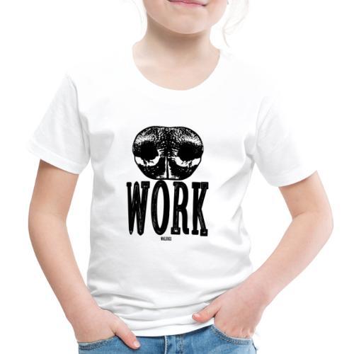 Nose Work Black - Lasten premium t-paita