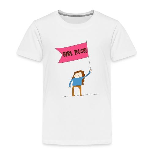 Gurl boss - Camiseta premium niño