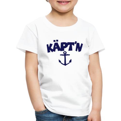 Käpt'n Anker Segeln Segler Kapitän - Kinder Premium T-Shirt