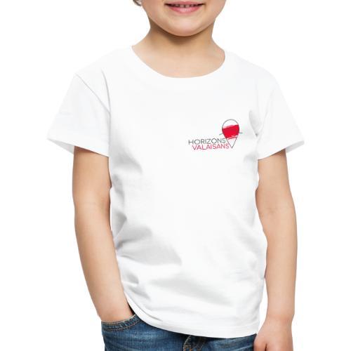 Horizons Valaisans (noir) - T-shirt Premium Enfant