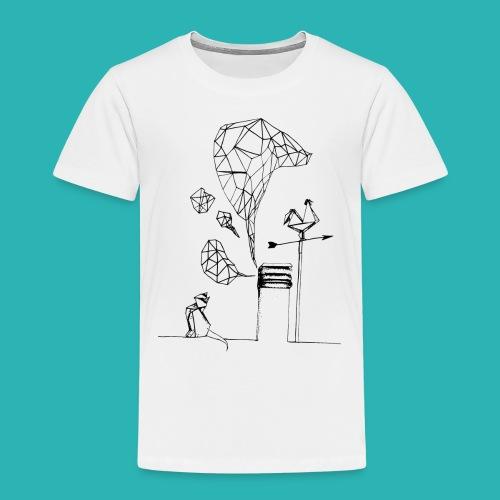 Carta_gatta-png - Maglietta Premium per bambini